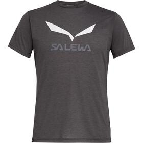 SALEWA Solidlogo Dri-Release T-shirt Homme, black out melange